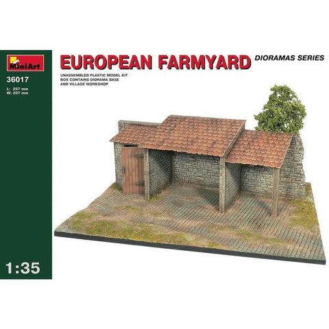 MINIART European Farm Yard
