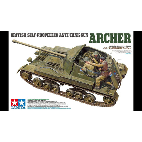 TAMIYA 1/35 British Self-Propelled Anti-Tank Gun Archer