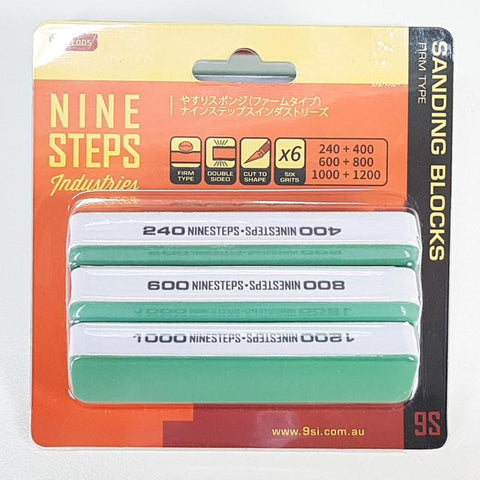 NINESTEPS Sanding Blocks Firm Type