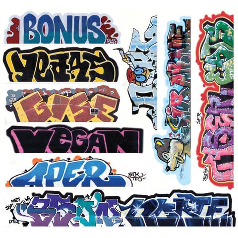 BLAIR LINE HO Graffiti Decal Mega #13 (10)