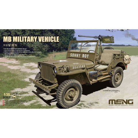 MENG 1/35 MB Military Vehicle