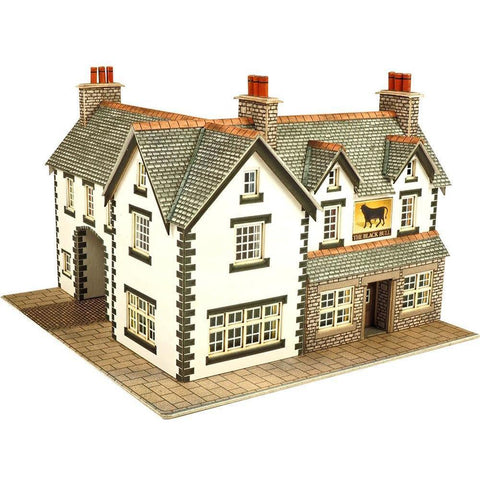 METCALFE Coaching Inn N Scale