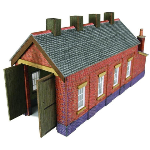 METCALFE SINGLE TRACK ENGINE SHED BRICK