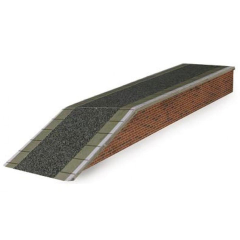 METCALFE Red Brick Platform HO Scale
