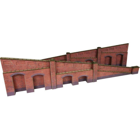 METCALFE Tapered Retaining Wall Brick HO Scale