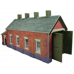 METCALFE Single Track Engine Shed HO Scale