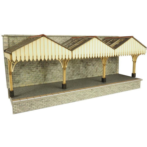 METCALFE Wall Backed Platform HO Scale