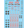 MICRO SCALE Armor Decals - German Armor Division Markings a