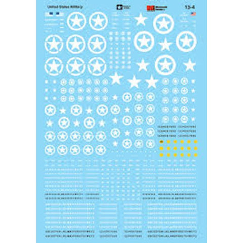 MICRO SCALE Armor Decals - United States Armor Codes and In
