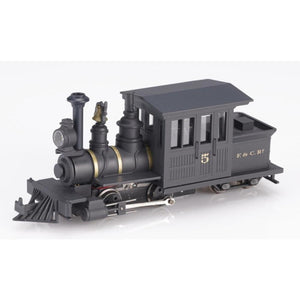 MINITRAINS OO9 Forney 0-4-4T Loco - Black (w/lettering)
