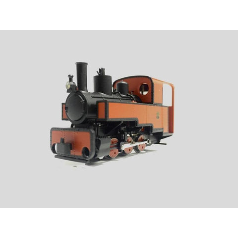 Image of MINITRAINS OO9 Decauville 0-6-0 Loco - Red (MT-1082)