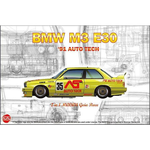 Image of NUNU 1/24 BMW M3 E30 GR.A 1991 Auto Tech