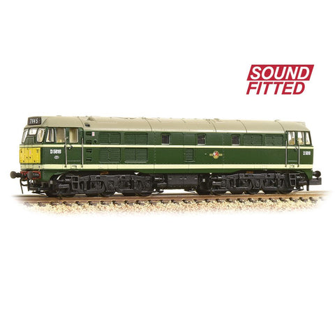 GRAHAM FARISH Class 31 D5616 BR Green Small Yellow Panel (Sound Fitted)