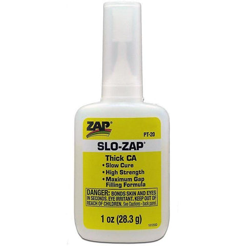 Image of ZAP 1oz Yellow Slo-Zap Thick CA