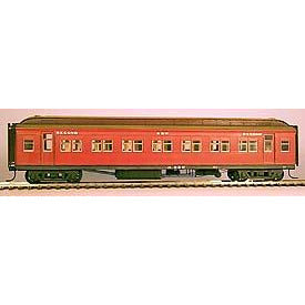 STEAM ERA MODELS HO - BW Second Class Passenger Car (KIT)