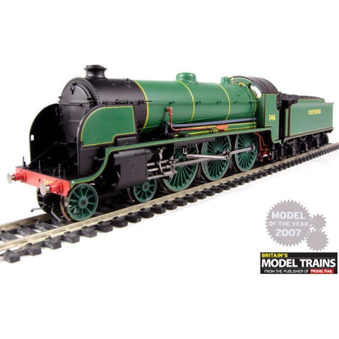 "HORNBY Class N15 4-6-0 746 ""Pendragon"" & Tender in SR Malac"