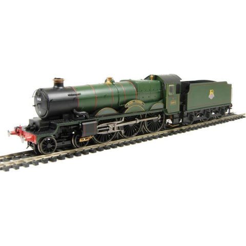 "HORNBY OO GWR Castle ""Earl Cairns"" in early BR green - Pete"