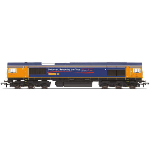 HORNBY GBRf, Class 66, Co-Co, 66713 'Forest City' - Era 11