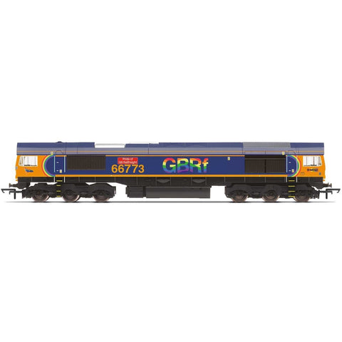 HORNBY GBRf, Class 66, Co-Co, 66773 'Pride of GB Railfreigh