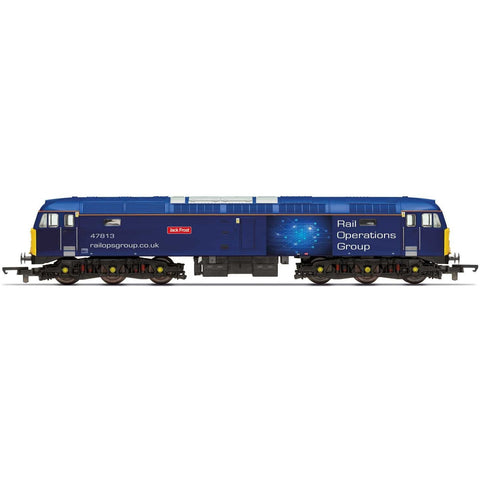 HORNBY ROG, Class 47, Co-Co, 47813 'Jack Frost' - Era 11