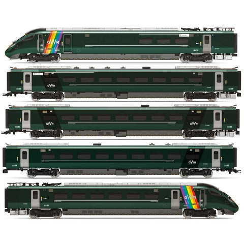 HORNBY GWR, Class 800, Trainbow Train Pack - Era 11