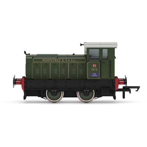 HORNBY Rowntree & Co., Ruston & Hornsby 88DS, 0-4-0, No. 3