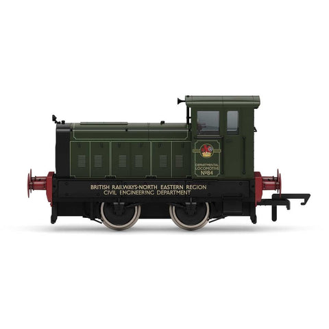 HORNBY BR, Ruston & Hornsby 88DS, 0-4-0, No. 84 - Era 6