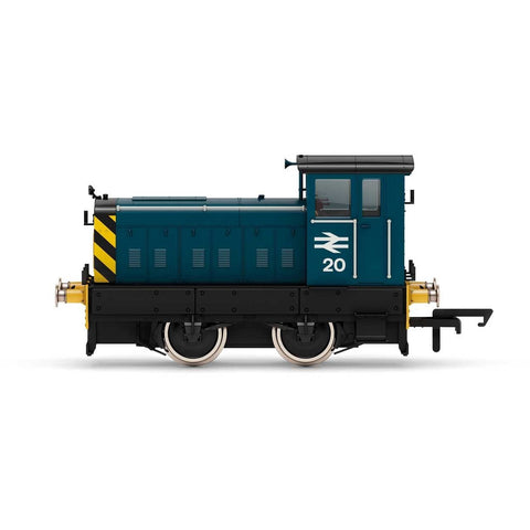 HORNBY BR, Ruston & Hornsby 88DS, 0-4-0, No. 20 - Era 7