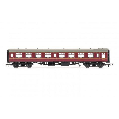 HORNBY OO BR MK1 TOURIST SECOND OPEN COACH, MAROON