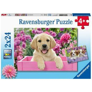 RAVENSBURGER Me and My Pal 2x24pce