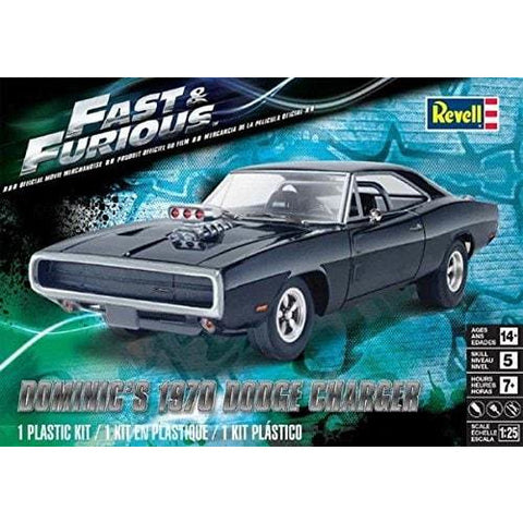 REVELL 1/25 Fast & Furious Dominic's 1970 Dodge Charger