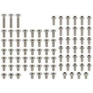 YOKOMO HIGH PRECISION TITANIUM BD7/8 3MM SCREW SET