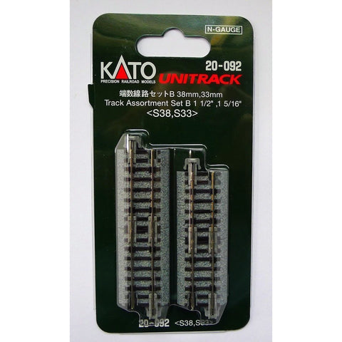 KATO N Unitrack Assorted Set 33 and 38mm