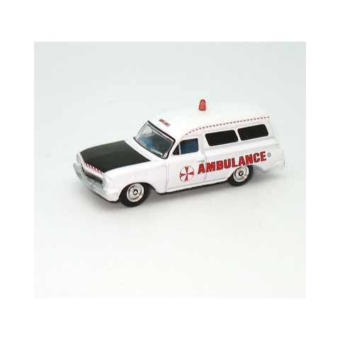 AUSSIE ROAD RAGERS 1963 EH Panel Van Ambulance - White