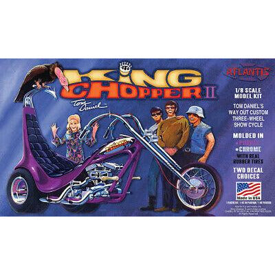 ATLANTIS 1/8 King Chopper Trike Tom Daniel Plastic Kit
