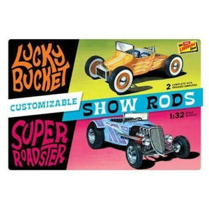 LINDBERG 1/32 Customized Street Rods (2 Pack)