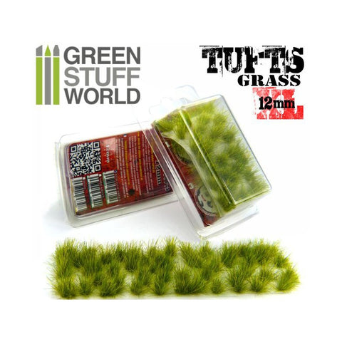 GREEN STUFF WORLD Grass Tufts 12mm Self-Adhesive - Realisti