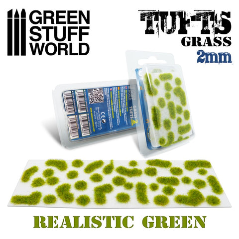 GREEN STUFF WORLD Grass Tufts - 2mm Self-Adhesive Realistic