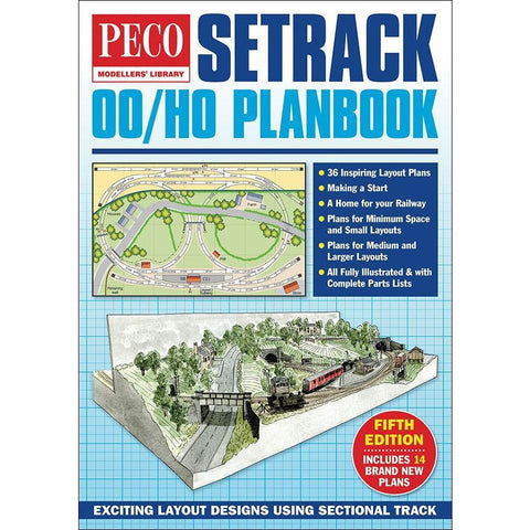 PECO OO/HO Setrack Plan Book