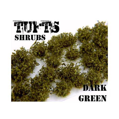 Image of GREEN STUFF WORLD Shrub Tufts - 6mm Self-Adhesive Dark Gree