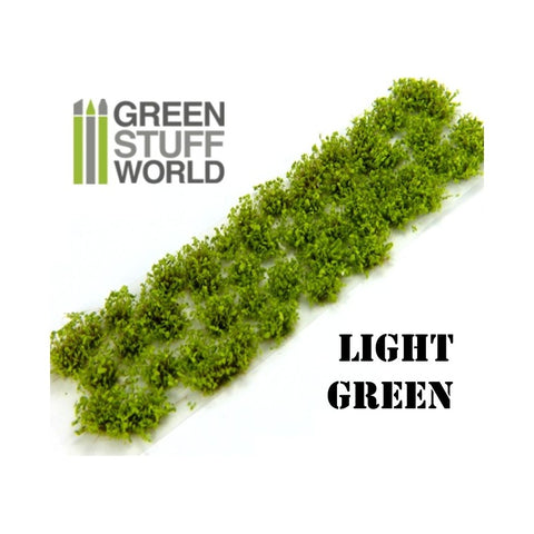 GREEN STUFF WORLD Shrub Tufts - 6mm Self-Adhesive Light Gre