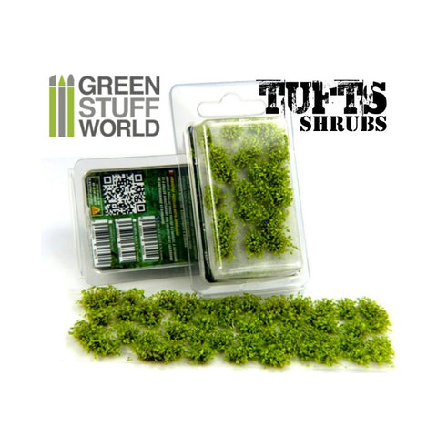 Image of GREEN STUFF WORLD Shrub Tufts - 6mm Self-Adhesive Light Gre