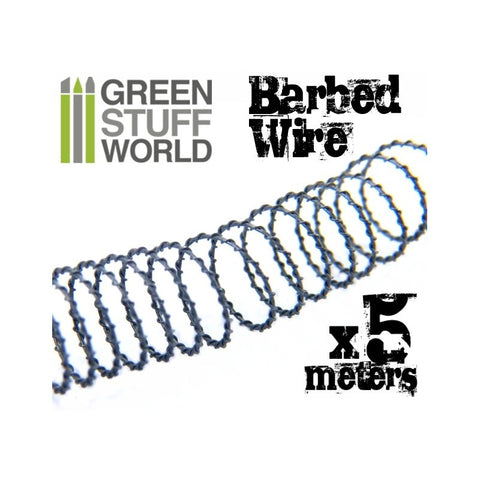 GREEN STUFF WORLD 5 Metres of Simulated Barbed Wire