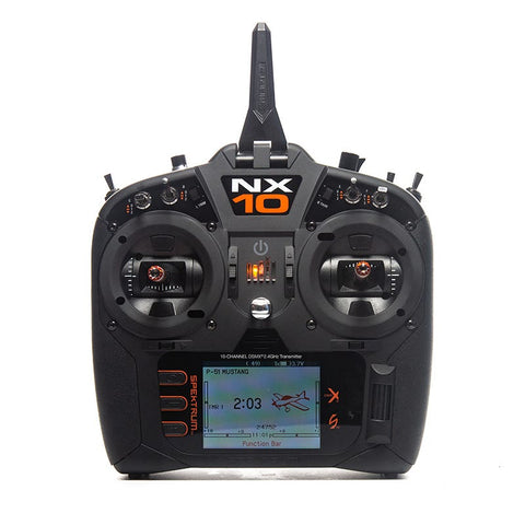 Image of SPEKTRUM NX10 10-Channel DSM-X Transmitter Only, Mode 1