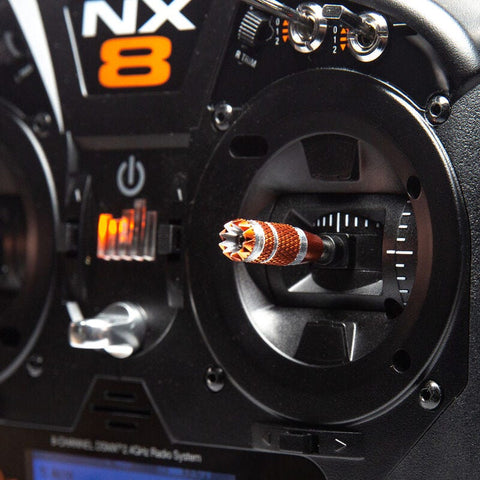 Image of SPEKTRUM NX8 8-Channel DSM-X Transmitter Only, Mode 2