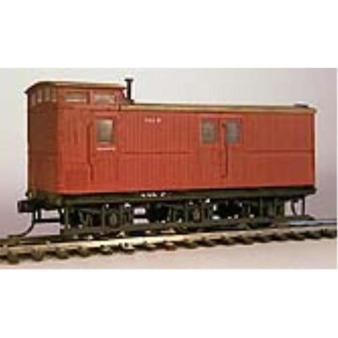 STEAM ERA MODELS HO - Z Van with Two Piece Axleboxes - Requ
