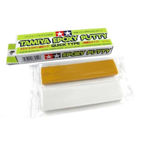 TAMIYA EPOXY PUTTY (QUICK, 100G)