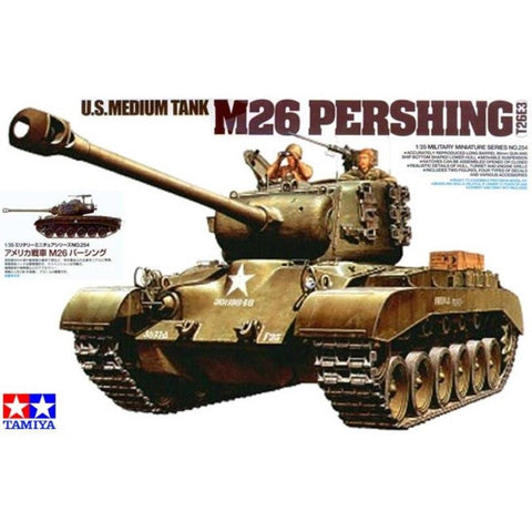 TAMIYA 1/35 M26 Pershing U.S. Medium Tank