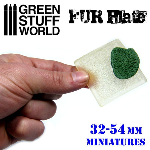 Image of GREEN STUFF WORLD Texture Plate - Wolf Fur