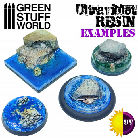 GREEN STUFF WORLD UV Resin - Clear Water Effect - 30ml